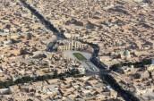 تصویر هوایی میدان امیرچخماق