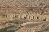 تصویر هوایی ورزشگاه شهید تختی یزد